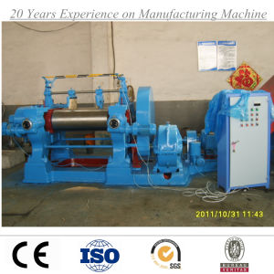 Two Roll Open Rubber Mixing Mill/Xk-560 Two Roller Mixer