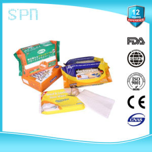 Alcohol Free Multi-Purpose Household Floor Wet Wipe pictures & photos