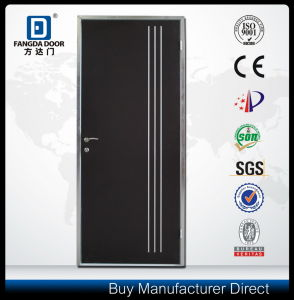 Israeli Interior Steel Door with Decorative Aluminum Strips pictures & photos