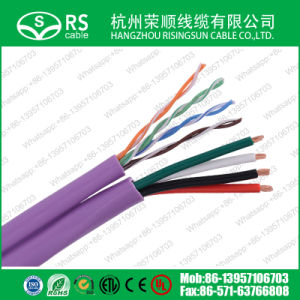 Structured Cable 4 Conductor Speaker and Cat5e UTP
