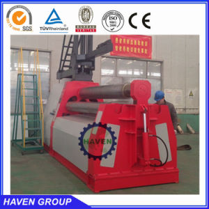 Hydraulic metal sheet bending and rolling machine W12S-30X3000 pictures & photos