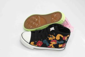 Beauty Design for Kids Shoes with Rubber Outsole (SNK-02098) pictures & photos
