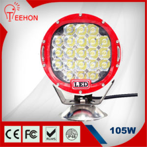 Round 105W 9450lm LED Driving Light pictures & photos