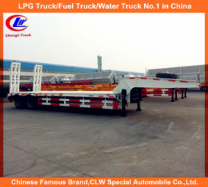40 Ton 2 Axle Lowbed Low Loader Semi Truck Trailer pictures & photos