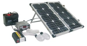 40W Compact Solar Power System