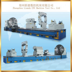 C61250 High Efficiency Cheap Horizontal Heavy Lathe Machine for Cutting pictures & photos