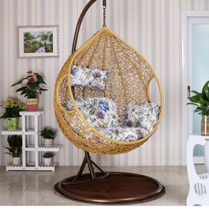 Chromatic Factory Outdoor Swing, Rattan Furniture, Indoor Egg Hanging Chair  (D011B)