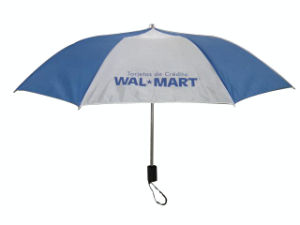 Market Brand Promotion 2 Fold Advertising Umbrella (AU016) pictures & photos