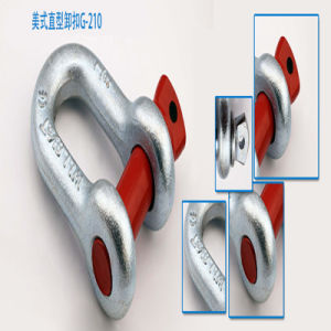 G210 U. S Bolt Type Color Screw Pin Drop Forged D/Bow Shackle pictures & photos