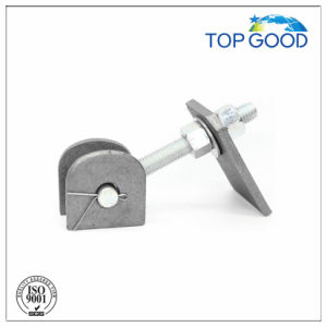 Steel with Plate Long Thread Fence Door Hinge (90100.1)