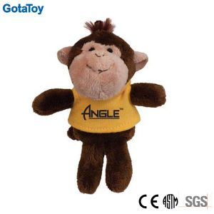 Competitive Price Factory Custom Plush Toy Monkey with Cotton Shirt