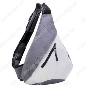 Single One Shoulder Strap Backpack Triangle Sling Bag for Outdoor Travel Hiking (BP110216)