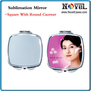 Sublimation Square Mirror with Round Corner (MS-06)
