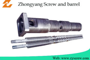 Conical Twin Screw and Barrel for PVC Production Line pictures & photos