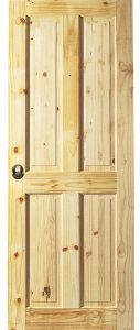 Apartment Modern Interior Knotty Alder Door Made in China pictures & photos