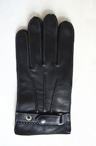 Men′s Fashion Leather Gloves (JYG-24097) pictures & photos