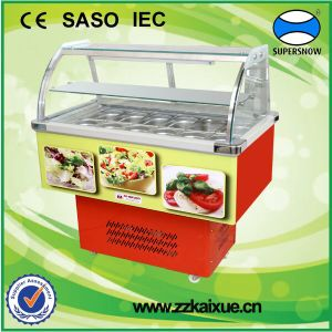 China Fruit Salad Display Counter Salad Fridge China Salad Fridge