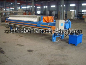 Manual Hydraulic Filter Press for Sale pictures & photos