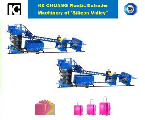 ABS, PC, PP, PS, PE, PMMA Single-Layer Sheet Plastic Extruder Machine for Luggage pictures & photos