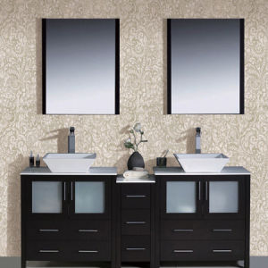 Dual Sink Bathroom Vanity Cabinet