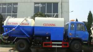 9000L Suction and Cleaning Sewage Truck for Exportation pictures & photos