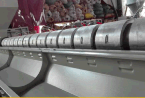 Factory Price Single Screw Plastic Sheet Extruder Line pictures & photos