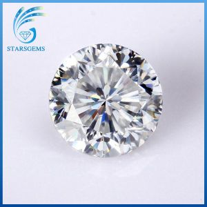 6.5mm 1.0 Carat Round 9 Hearts and 1 Flower Excellent Cut Moissanite Gemstones