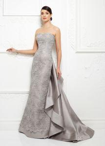 Silver Lace Dress