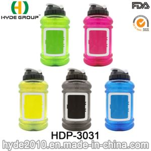2.2L Wholesale BPA Free Plastic Sport Protein Shaker Bottle (HDP-3031) pictures & photos