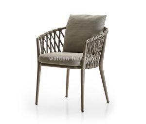 Rope Weaving Armchair/Aluminium Dining Chair/Garden Chair