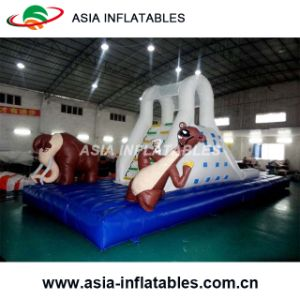 Custom Inflatable Jungles Climbing Wall for Sport Game pictures & photos