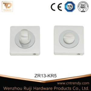 Silver Bathroom Fittings Wc Privacy &Door Knob (ZR13-KR5)