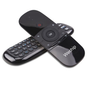 Newest Wechip W1 Mini Keyboard/Air Mouse Support PC and TV 2 4G Wireless  Remote Control
