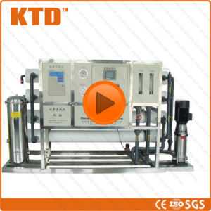 Ce ISO 1000L/Hour RO Large Scale Water Purification System Drinking Water  Treatment Purification Plant