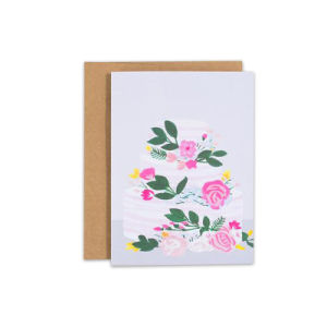 Custom Design Handmade Two Folding Thank You Cards Greeting Card
