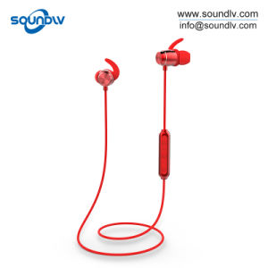 China Waterproof Earphones Sports Headset Bluetooth Wireless Headphone With Magnetic China Waterproof Sports Headphone And Bluetooth Wireless Headphone Price