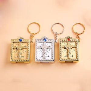 Religous Gift Holy Bible Keychain Gift Keychain Wholesale (IO-ck117)