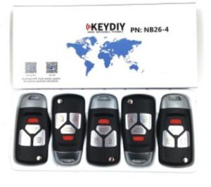 5PCS/Lot, Keydiy Original Kd900 Key Programmer Nb26 Universal Multi-Functional Kd Mini Remote Suitable for All B and Nb Series pictures & photos