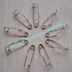 Brooch/Craft/Namtag Holding 32mm Steel Crimp Safety Back