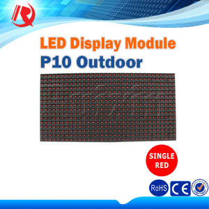 Outdoor Moving Message LED Display Board LED Scrolling Text Display Panel P10 LED Module pictures & photos