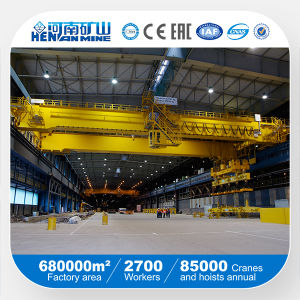 Double Girder Overhead Magnet Crane pictures & photos
