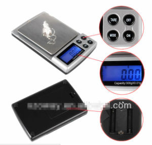 1000 G/0.1 G Digital Pocket Jewelry Scale with Stainless Steel Platform pictures & photos