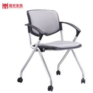 Factory Wholesale Office Furniture Metal Frame Meeting Chair pictures & photos