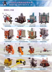 Double Cylinders Hot Melt Preheater for Thermoplastic Road Marking Machine