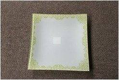 Fruit Plate Tempered Glass Plate Glass Board