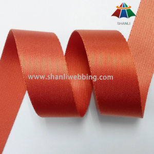 1-1/2 Inch Orange Red Twill Nylon Webbing Straps for Bags pictures & photos