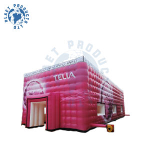 PVC Magenta Cube Inflatable Tent (PLT20-027)