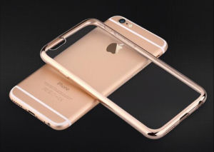 Electroplating TPU Mobile Phone Case for iPhone 6 4.7inch pictures & photos