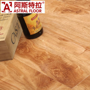 High Quality HDF 12mmhigh Gloss Surface Laminate Flooring (AM5562) pictures & photos