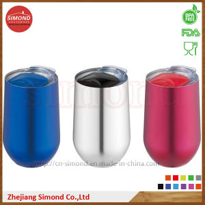 500ml Round Shape Stainless Steel Vacuum Wine Mug (SD-8022) pictures & photos